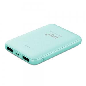 PQI i-Power 5000E 極輕薄口袋型 5000mAh 行動電源( 蘋果綠)